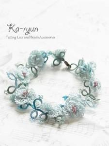 Shirley poppy bracelet ブルー