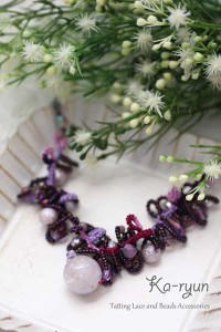 ぶどうのネックレス・Grapes