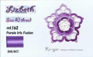 162 - Purple Iris Fusion